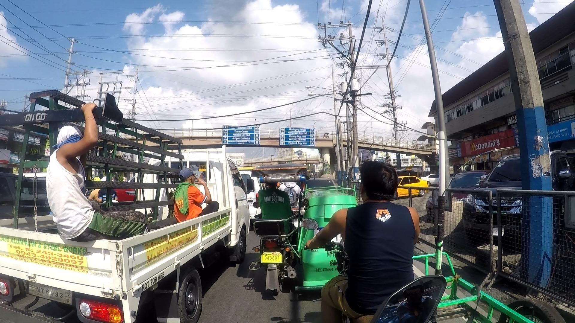 Metro Manila Traffic July 2019